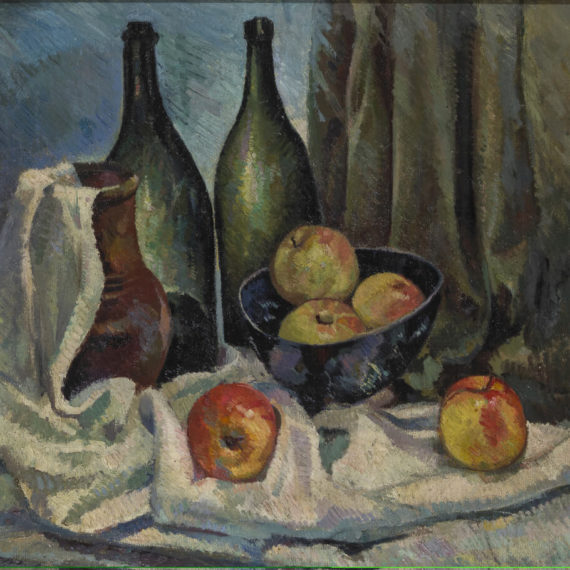 Still-life-with-a-bottles
