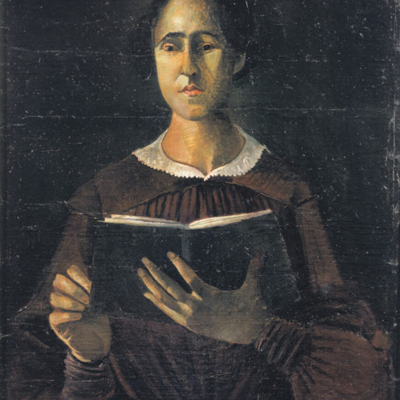 The-girl-with-a-book