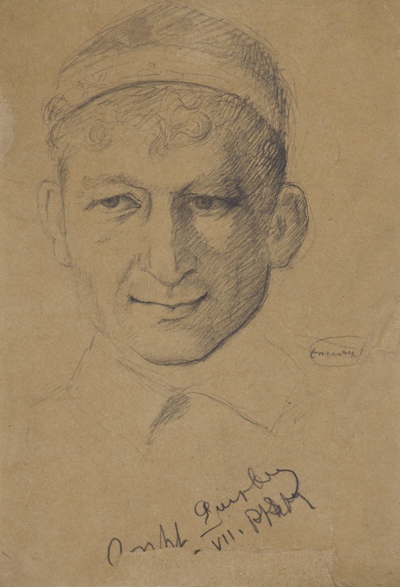 Portrait of Eghishe Charentc