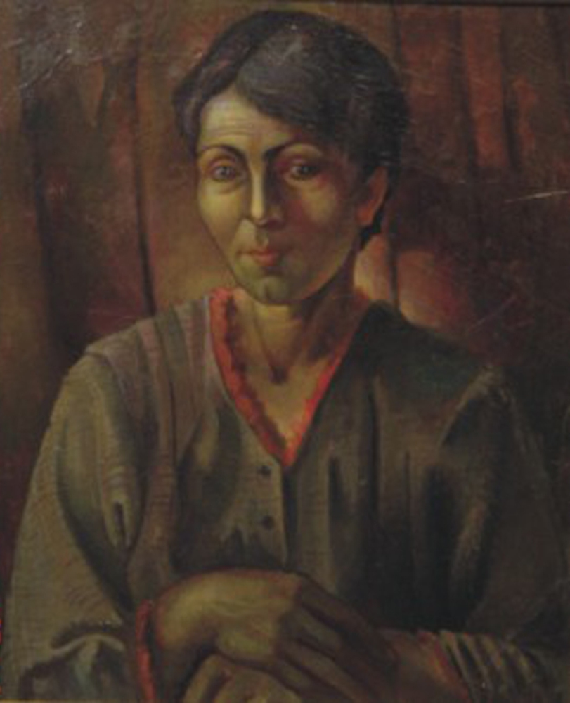 Portrait of artist's mother