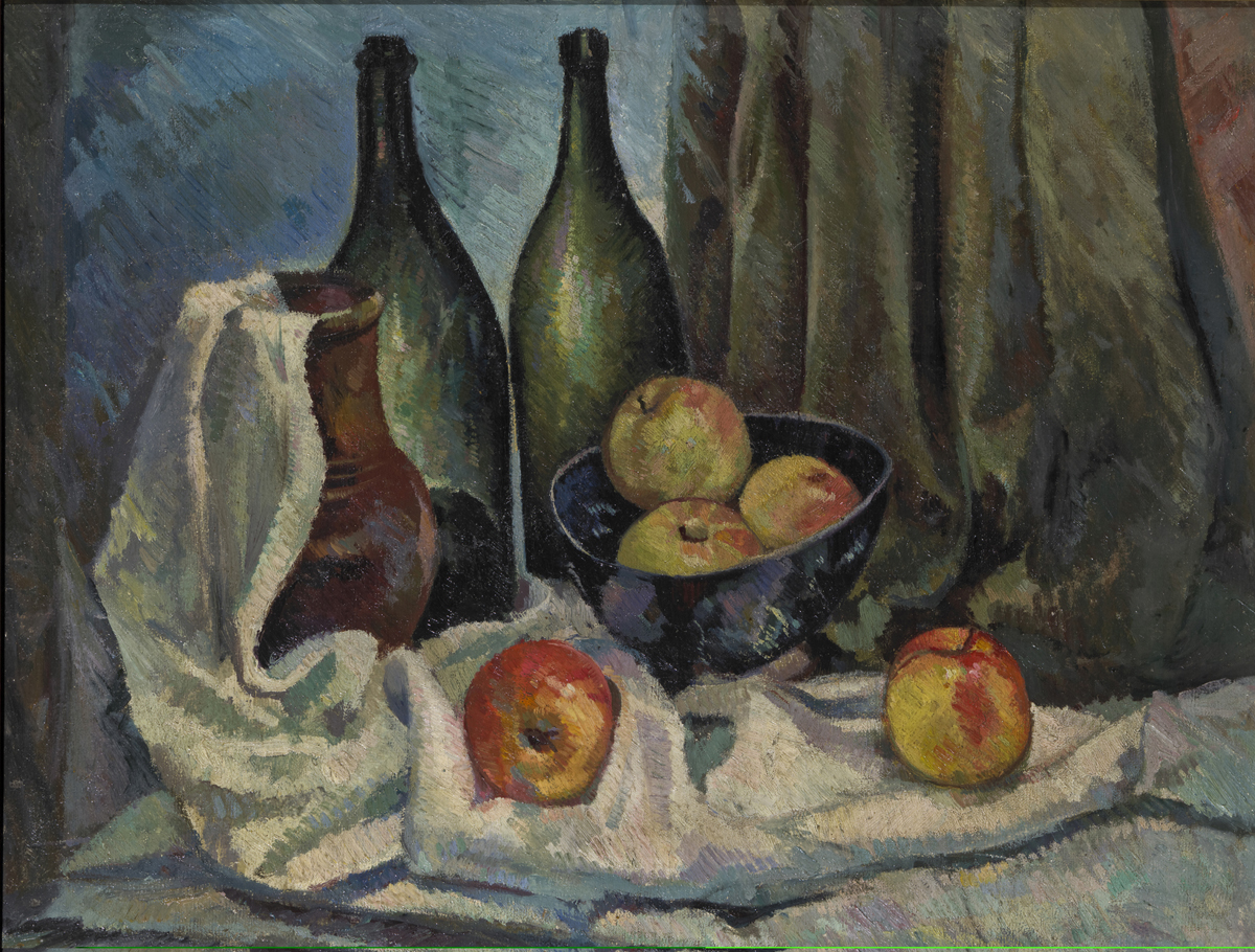 Still life with a bottles