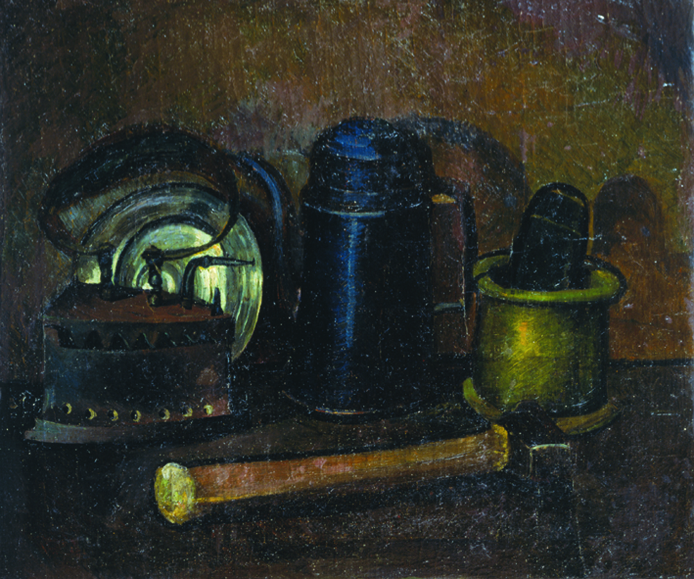 Still life with an iron
