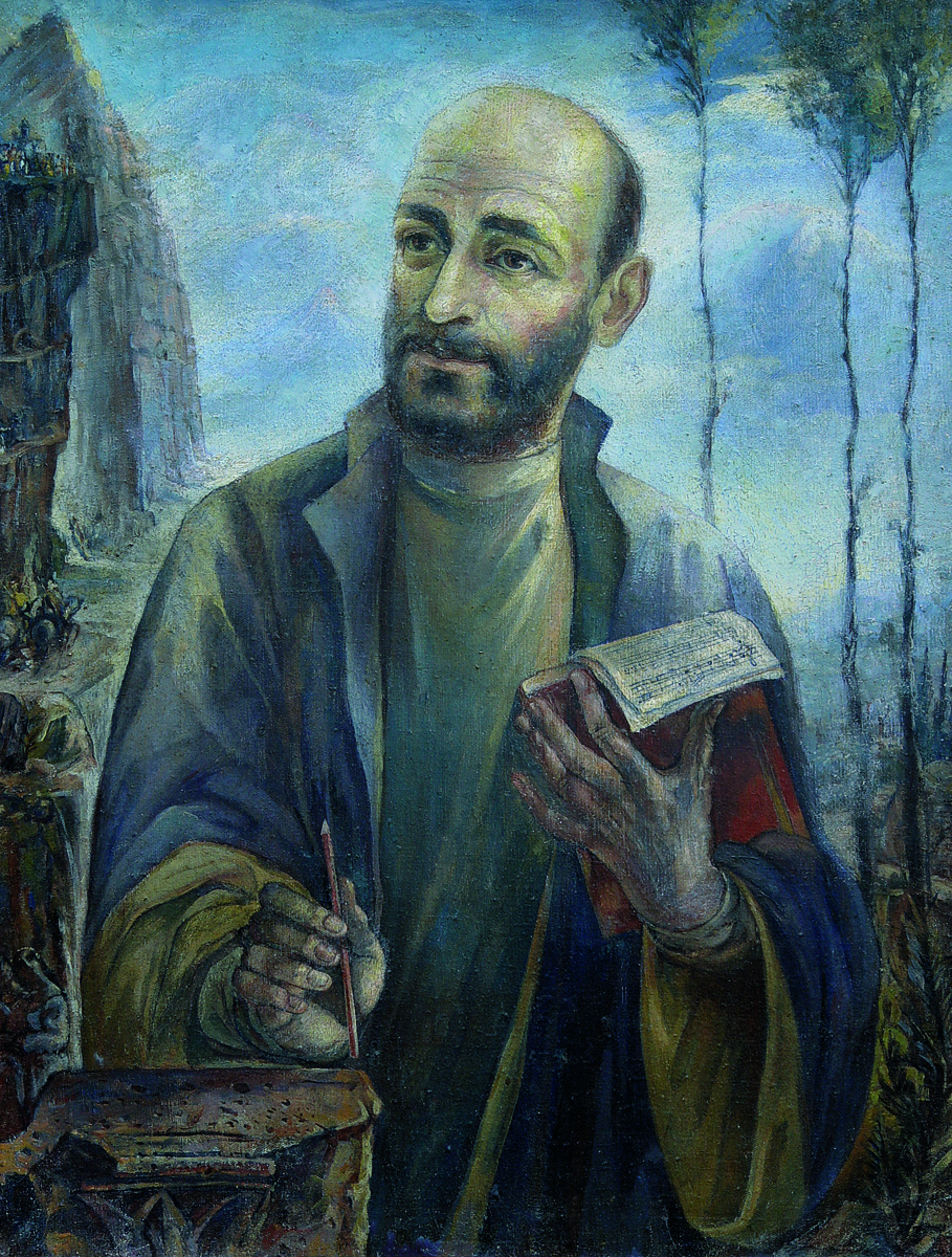 Komitas portrait by Ervand kochar