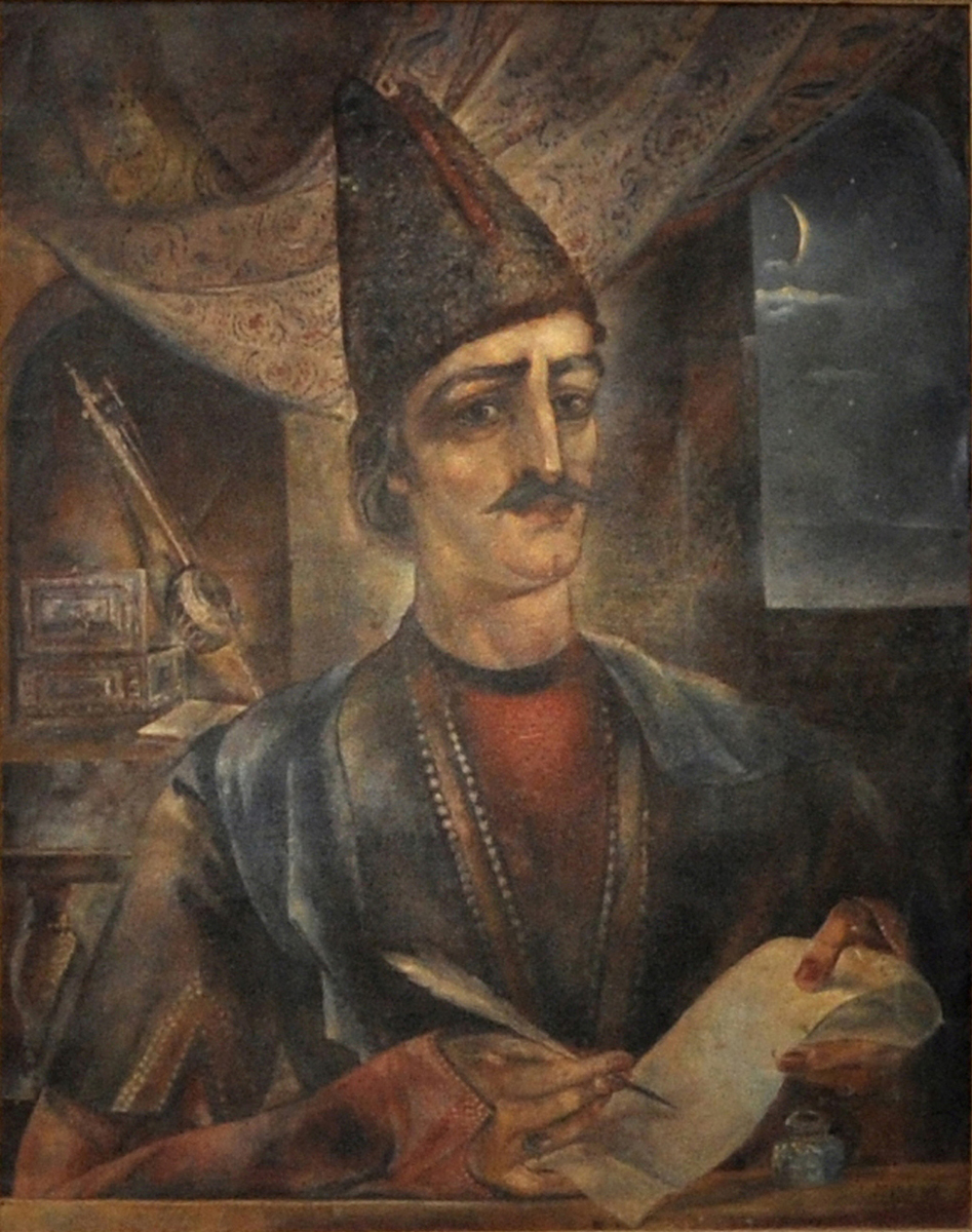 Portrait of Sayat - Nova